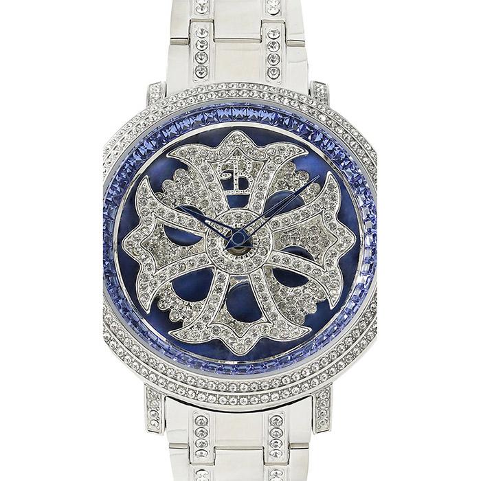 brillamico lilylimited46mm blue-silver フェイス