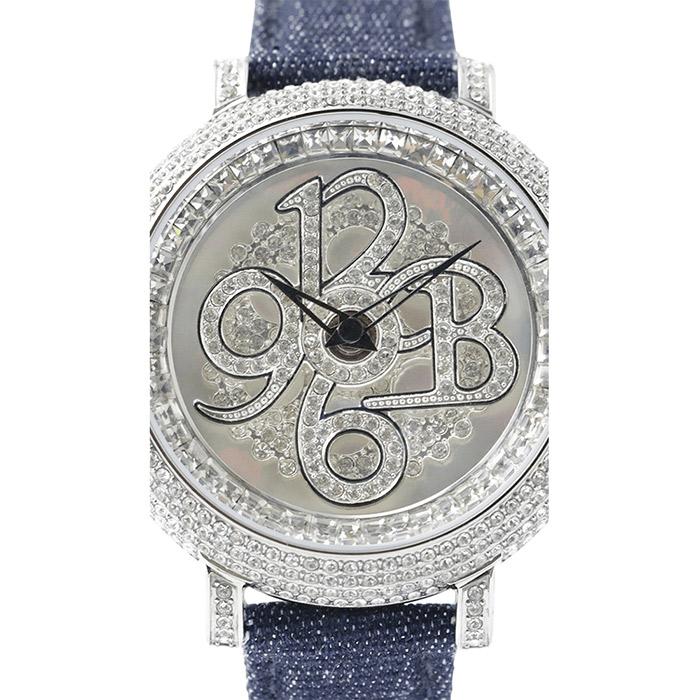 brillamico number40mm indigo フェイス
