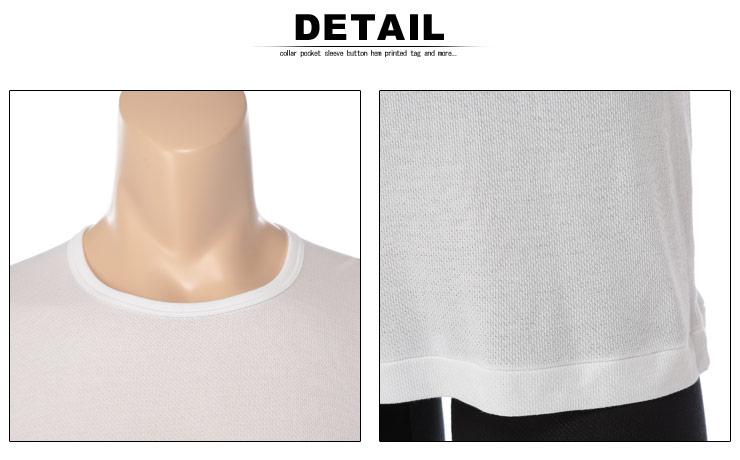肌着 メンズ 大きいサイズ Tシャツ 半袖 春夏対応 HYBRIDBIZ×BVD 接触冷感 綿100% クルーネック アンダーシャツ 3L-7L ビーブイディ B.V.D.・着用イメージ6・大きいサイズメンズ洋服のサカゼン