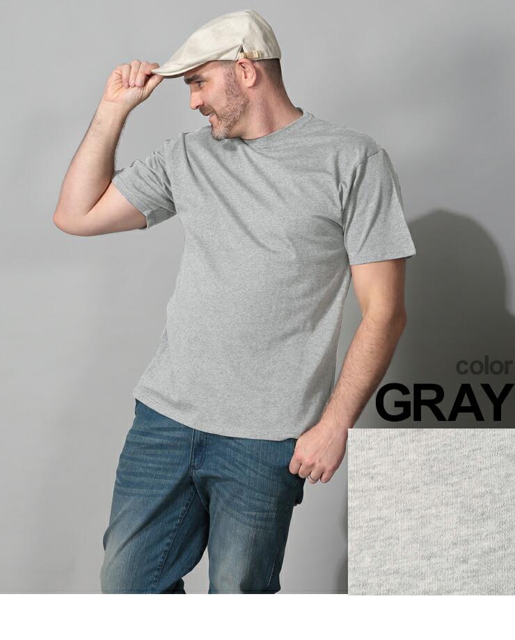 大きいサイズメンズ洋服のサカゼン:大きいサイズ メンズ 半袖Tシャツ 半袖 汗じみ防止 tシャツ 汗染み軽減 綿100% 無地 2L 3L 4L 5L 6L 7L 8L 9L 10L・着用イメージ5