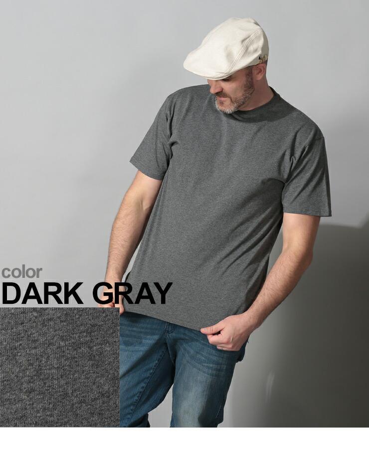 大きいサイズメンズ洋服のサカゼン:大きいサイズ メンズ 半袖Tシャツ 半袖 汗じみ防止 tシャツ 汗染み軽減 綿100% 無地 2L 3L 4L 5L 6L 7L 8L 9L 10L・着用イメージ6
