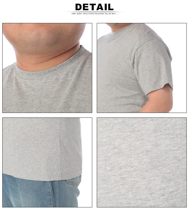 大きいサイズメンズ洋服のサカゼン:大きいサイズ メンズ 半袖Tシャツ 半袖 汗じみ防止 tシャツ 汗染み軽減 綿100% 無地 2L 3L 4L 5L 6L 7L 8L 9L 10L・着用イメージ10