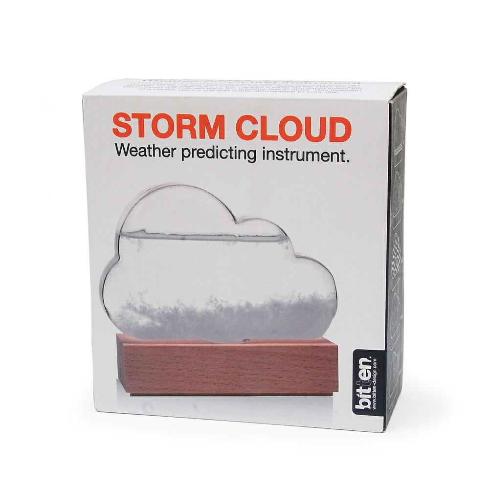 ストームグラス クラウド bitten ビッテン ビトゥン ストームグラス 結晶 雲 くも 天気予報 天気 天候 予測 機器  誕生日 予報 インテリア オブジェ 置物 ギフト プレゼント 男性 夏休み 自由研究 サイエンス 科学 理科 かわいい おしゃれ メンズ storm cloud