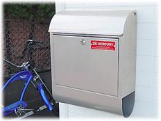 マーキュリー Mail Box 取り付けイメージ