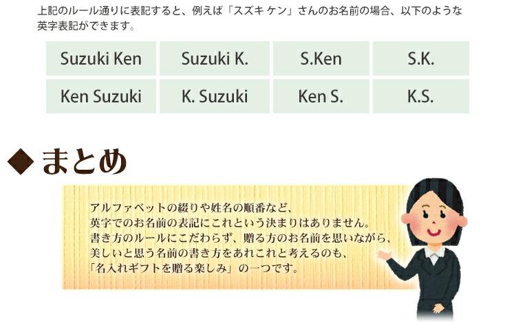 名前 ローマ字 表記 ローマ字表記「姓→名」、来年1月スタート 国の公文書:朝日新聞デジタル