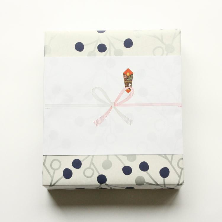 オリジナル包装紙1(ネイビー・シルバー)