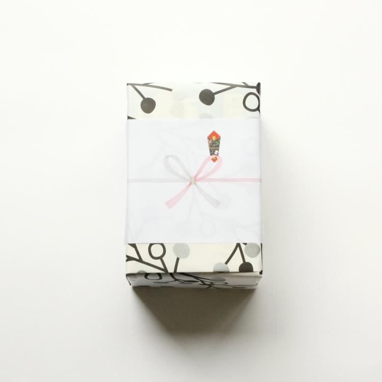 オリジナル包装紙2(ダークグレー・シルバー)