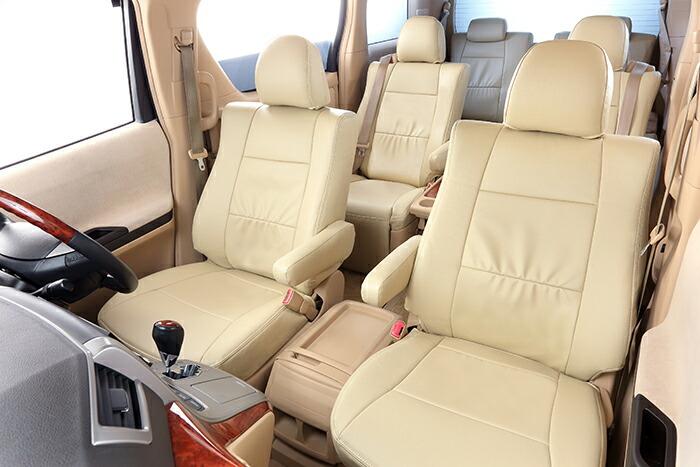 ベレッツァ シエンタ NSP170G NCP175G Bellezza シートカバー ワイルドステッチ シートカバー T366