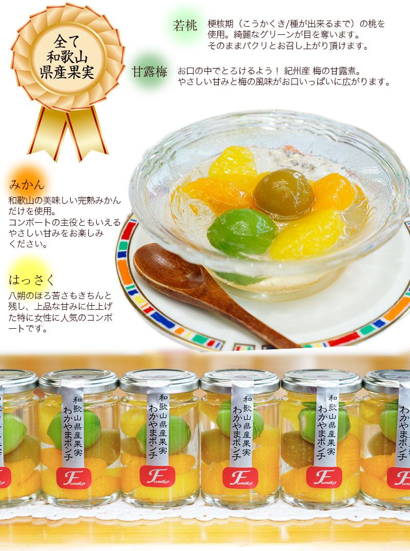 全て和歌山県産果実を使用