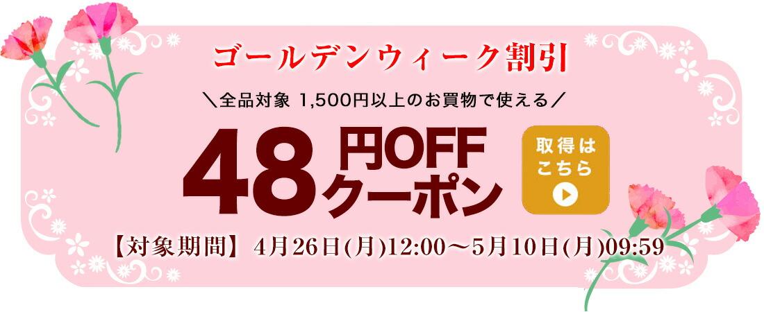 48円OFFクーポン