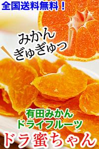 有田みかんの美味しさぎゅぎゅっ!ドライフルーツ ドライみかん