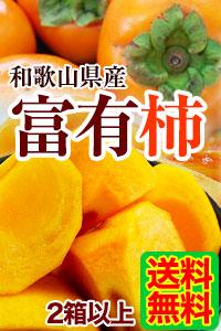 和歌山県産富有柿 送料無料!