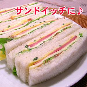 サンドイッチにも梅マヨ!