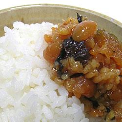 梅金山寺みそは、あたたかいご飯や、おかゆと一緒に食べると美味しい!