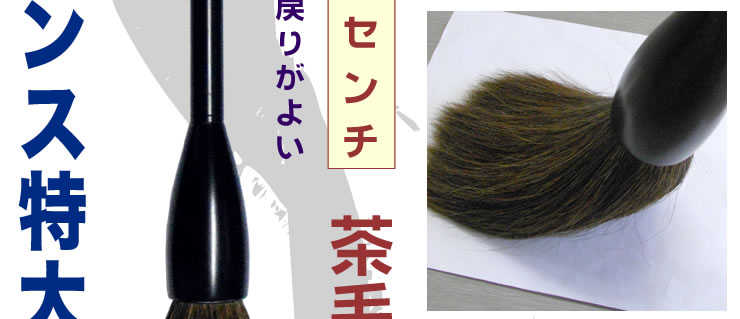 茶毛/馬尾毛