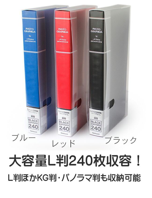 フォトグラフィリア240枚アルバム説明1