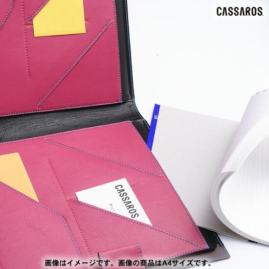 CASSAROS キャサロス ファイルノートカバー B5
