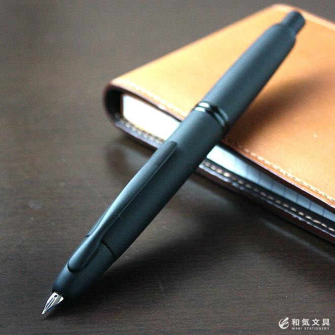 キャップレス万年筆