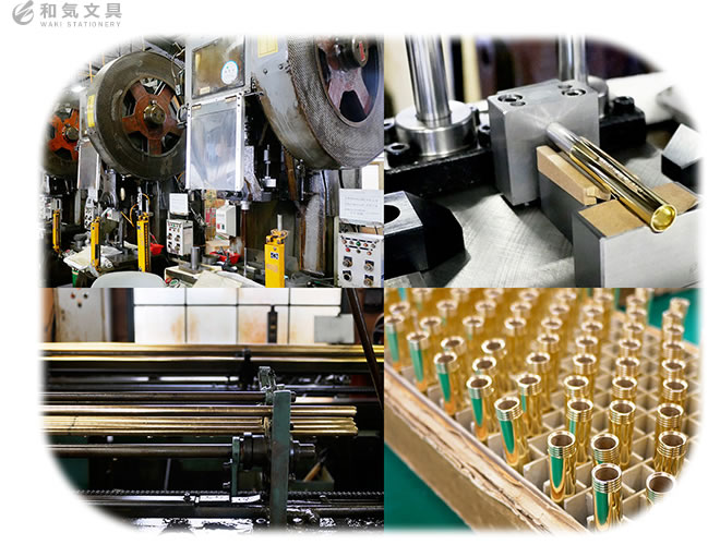 日本の工場で職人や技術者によって作られています