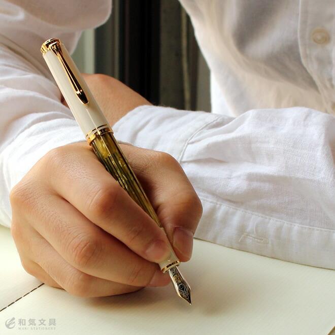 ペリカン Pelikan スーベレーンM400 ホワイトトータス 万年筆