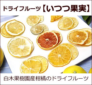 柑橘のドライフルーツ