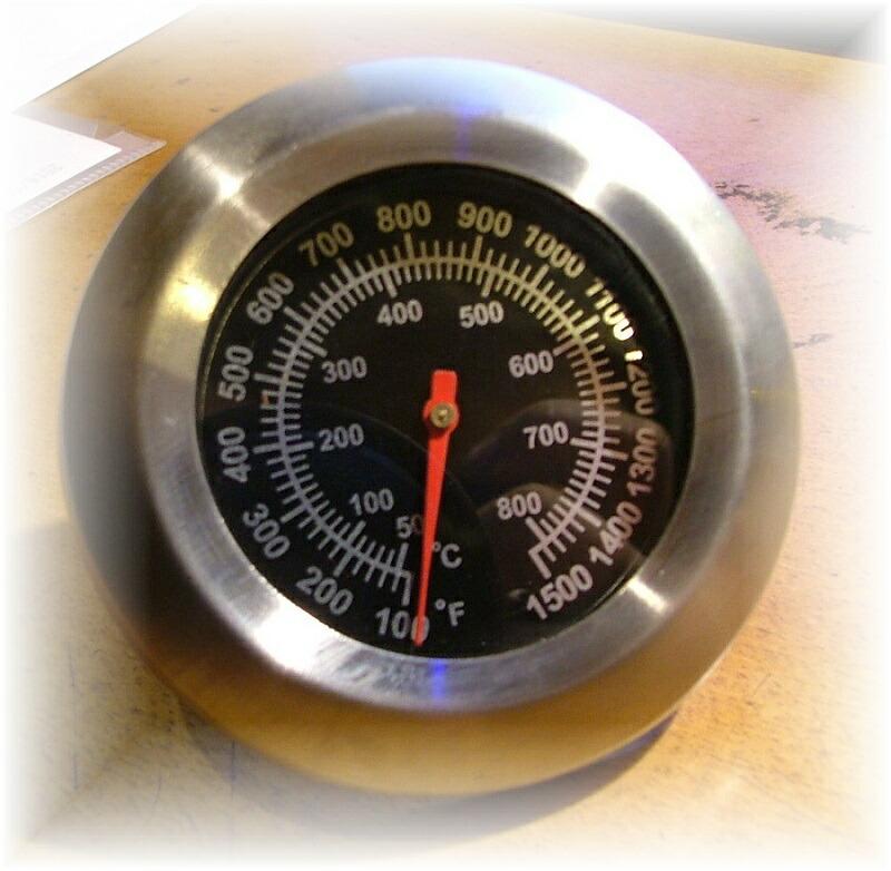 ピザ窯・温度計・調理器具