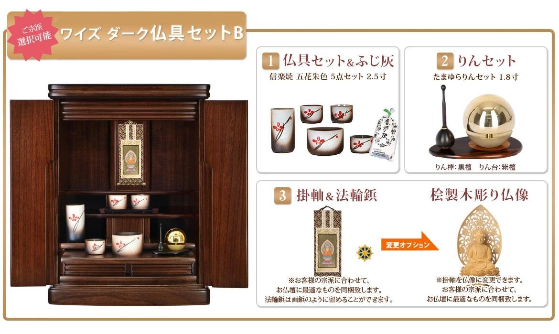 仏具セットB +24300円
