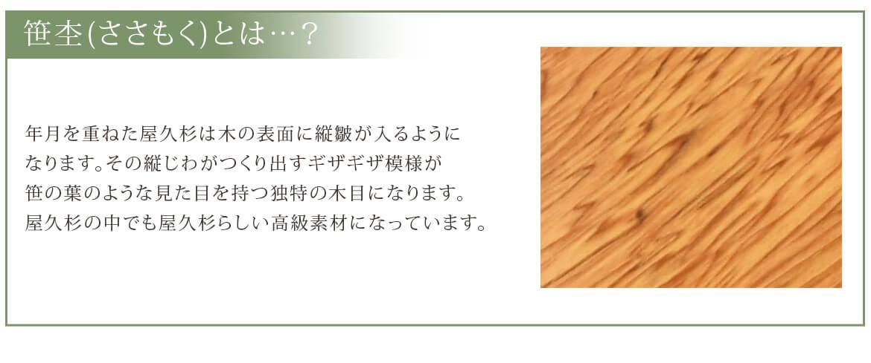 笹杢(ささもく)とは…?