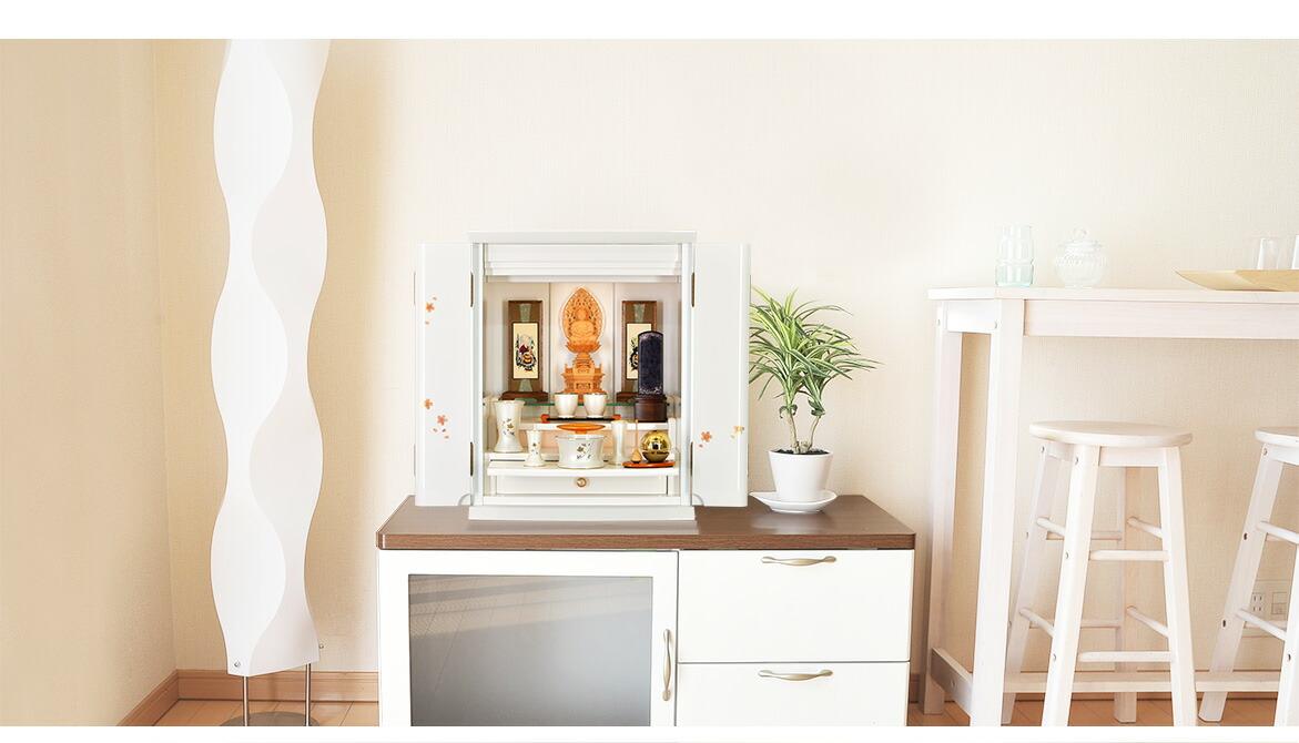ピアフ桜蒔絵 洋室設置イメージ