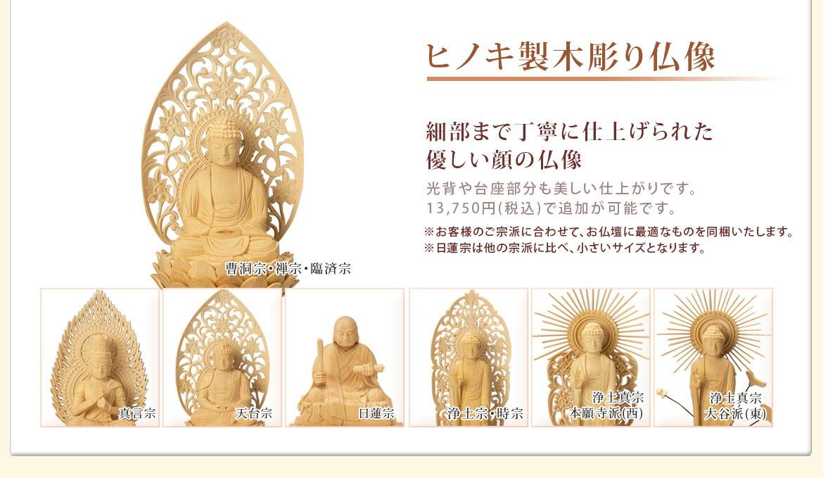 仏像  +12500円