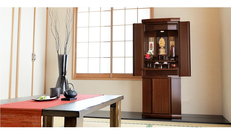 モダン仏壇 ブロンソン 和室設置イメージ