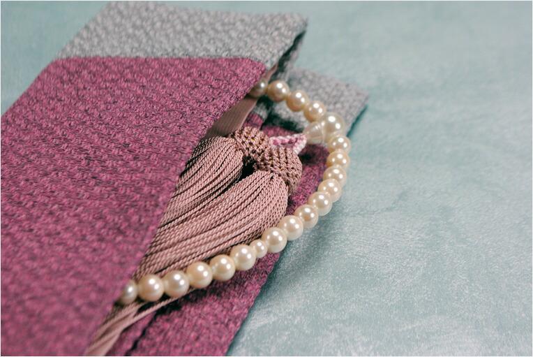 モダン数珠袋