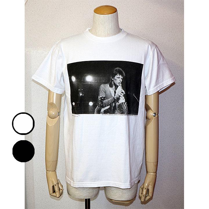 ONEITA(オニータ) David BowieプリントTシャツ