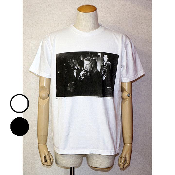 ONEITA(オニータ)<br />Sex PistolsプリントTシャツ Sex Pistols×ONEITA コラボ半袖Tシャツ フォトTシャツ 2色 ホワイト ブラック