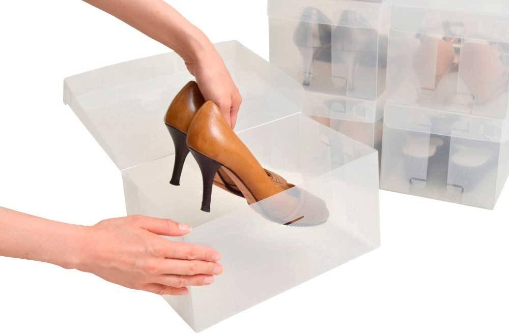 女性用シューズボックス ハイヒール用(6箱入り)