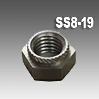 SUSカレイナットSS8-19