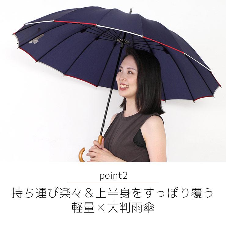 持ち運び楽々&強い雨に対応 軽量×大判雨傘
