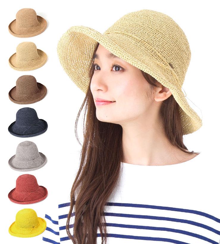 麦わら帽子 キャペリン