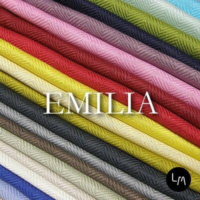 リネン生地 エミリア カラー (布幅 150cm) リトアニア製