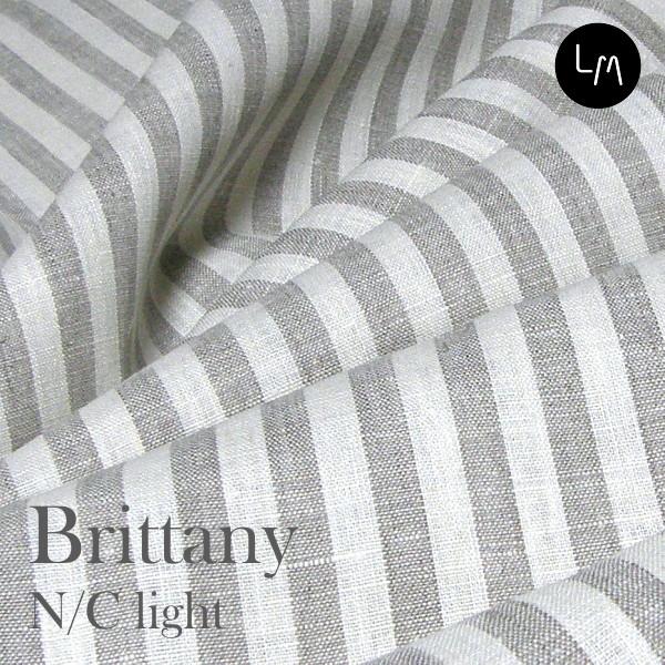 リネン生地 ブリタニー N/C ライト(布幅 150cm) リネン100% リトアニア製