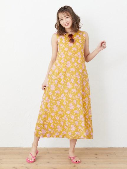 MFD01(ミルクフェド)通販|RETRO FLORAL 2WAY DRESS
