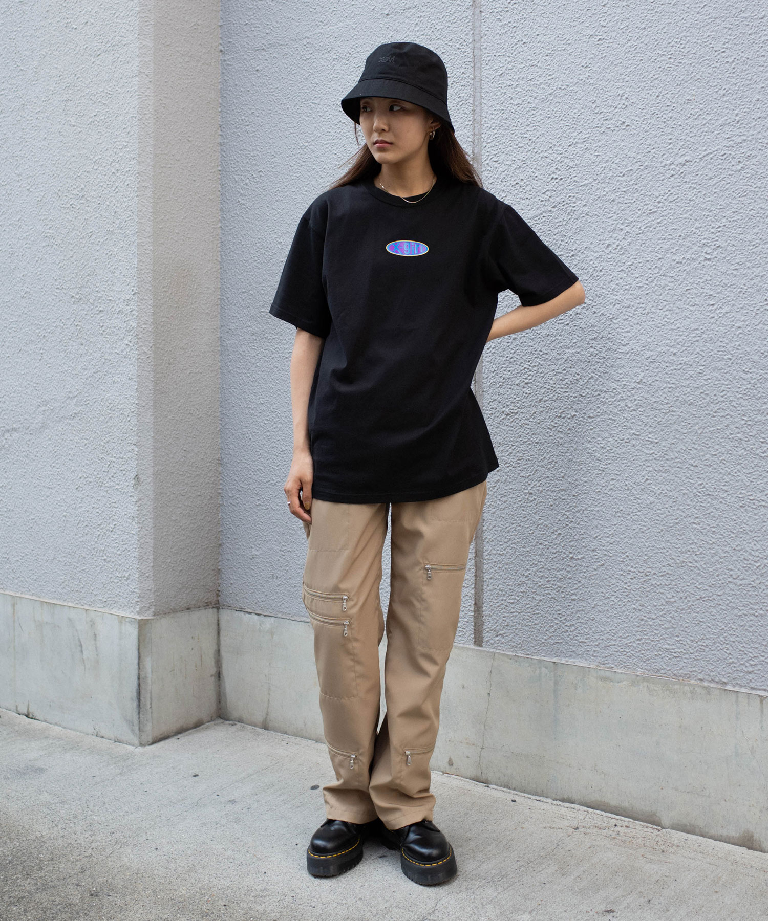 XGI01(エックスガール)通販|RUBBER LOGO S/S TEE