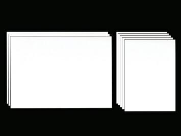 カリグラフィーの練習用紙