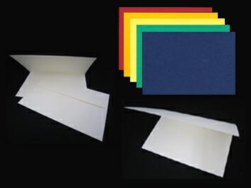 カリグラフィーの作品作りには特殊紙や専用の作品用紙