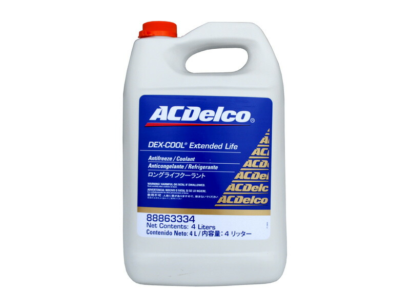 クーラント デキシクール ACデルコ ACDelco レッド 4L