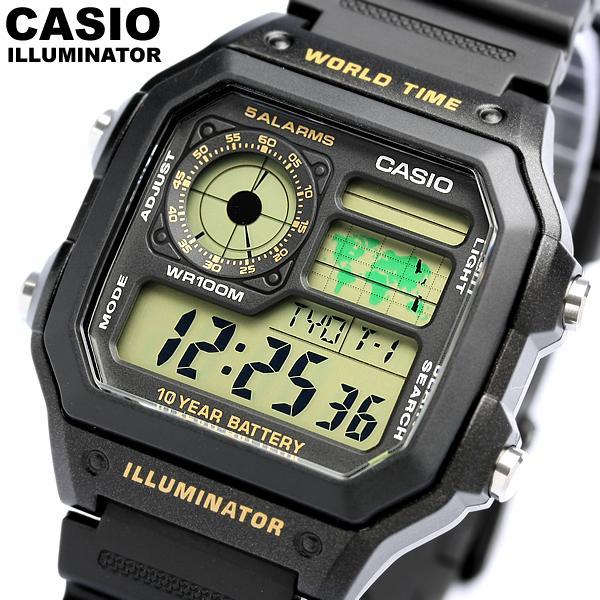 【楽天市場】【カシオ・腕時計】カシオ 腕時計 デジタル CASIO カシオ 腕時計 デジタル メンズ AE ...