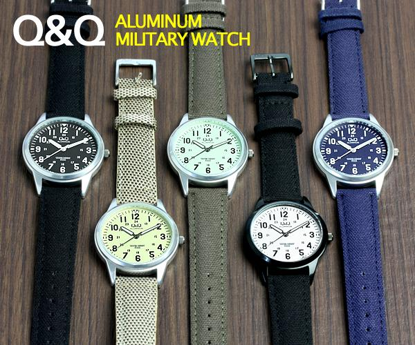 Cameron citizen cbm q q men watch military watch aluminum rakuten global market for Q q watches