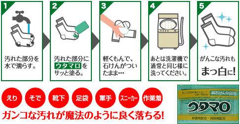 ウタマロ(洗濯用複合石鹸)
