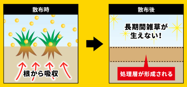 レインボー薬品株式会社 ネコソギメガ粒剤 ソーラー用地用