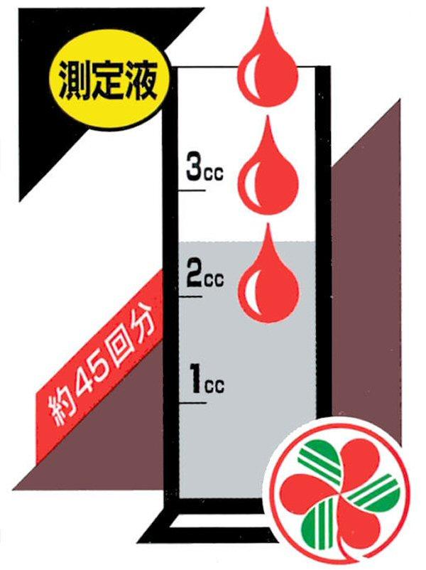 一目でわかる酸度pH測定液・アースチェック液の商品特長